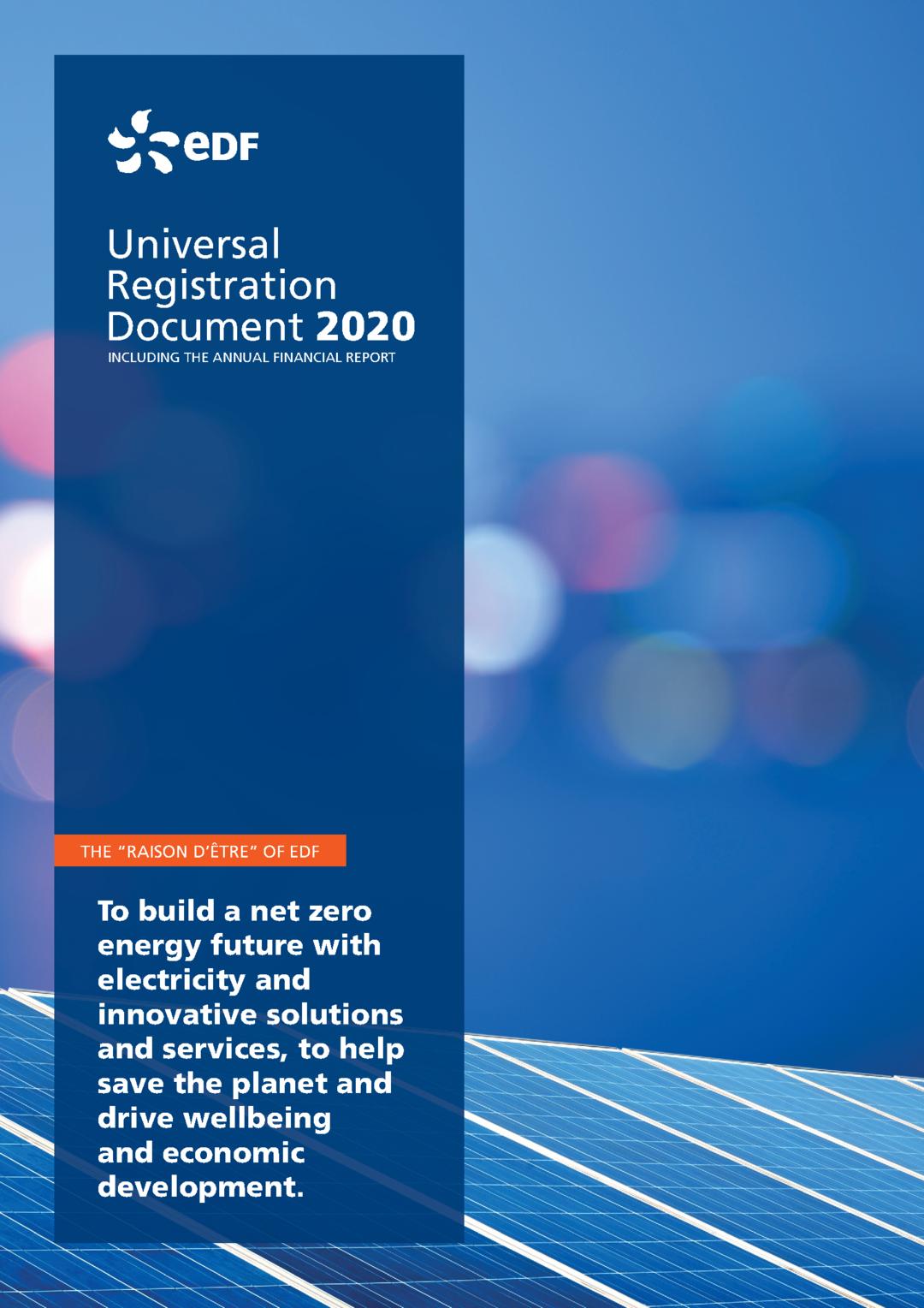 "Cover - ""Universal Registration Document 2020"""