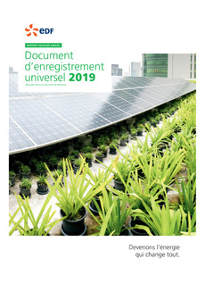 "Couverture - ""Document d'Enregistrement Universel 2019"""